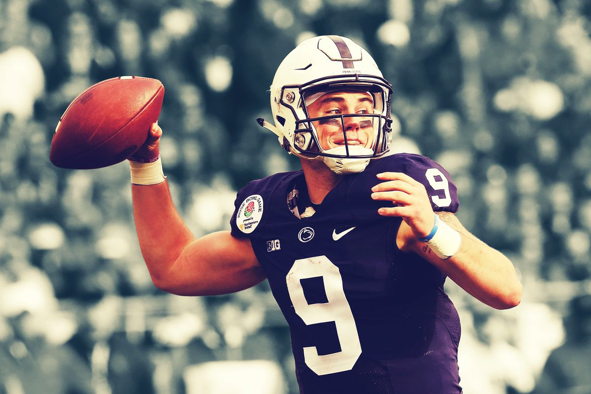 factory authentic cafb6 33e4f Penn State's Trace McSorley Is College Football's Master of ...