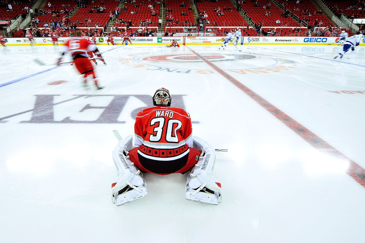 Cam Ward is healthy and ready to go