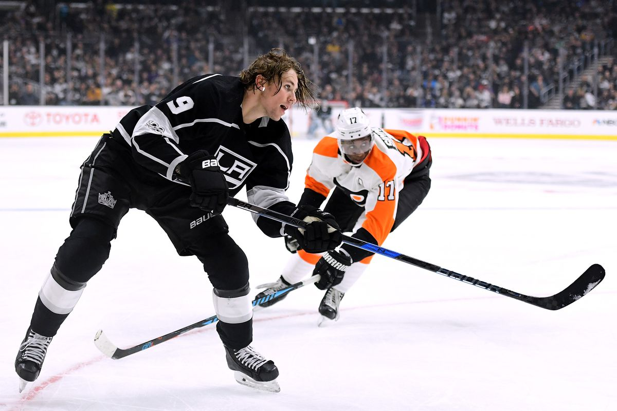on sale 08755 29ab0 Off Day Watch, 10/17: Next Man Up Next to Adrian Kempe ...