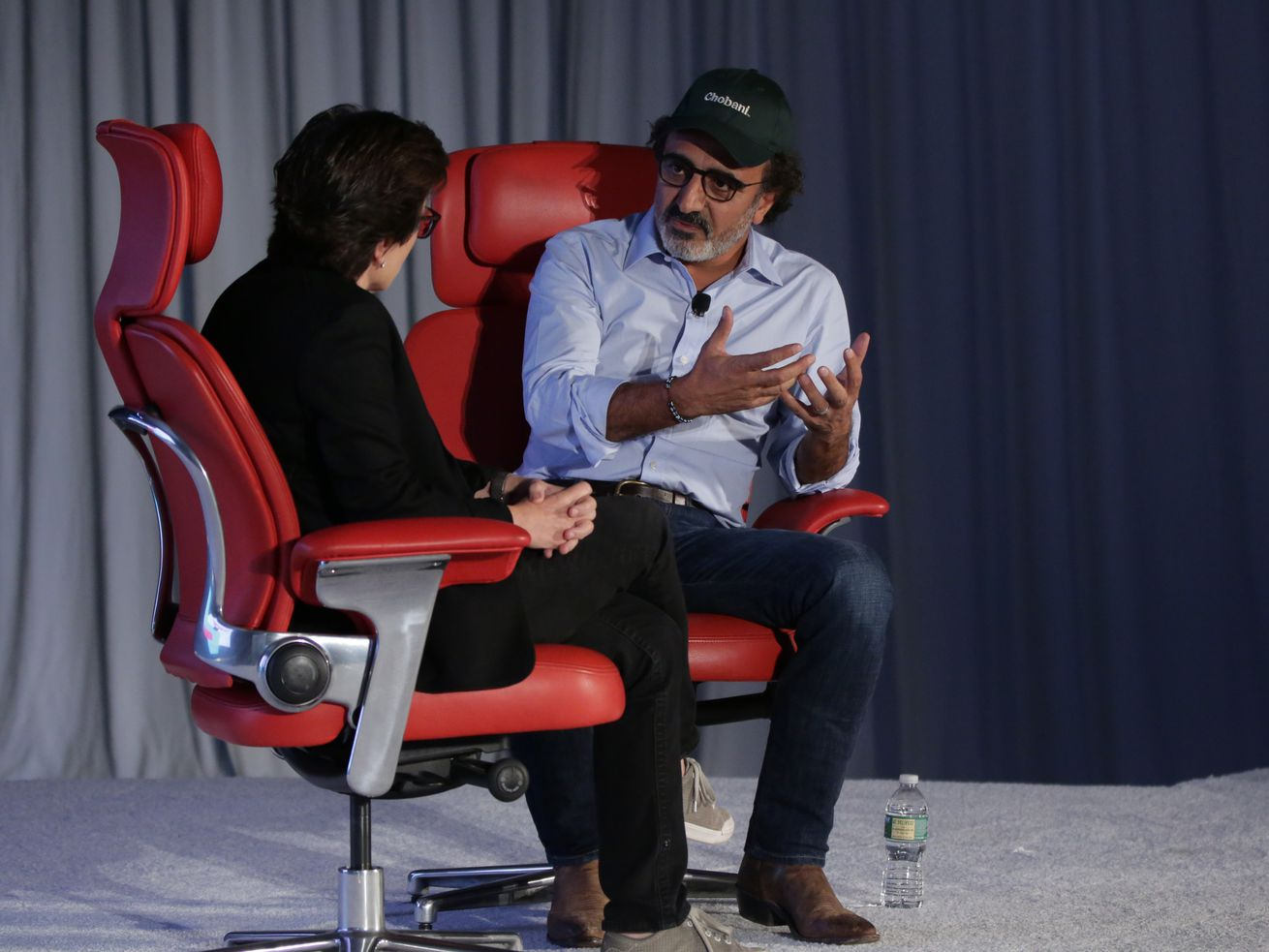 Chobani CEO Hamdi Ulukaya says he would consider going public — but won't sell to an industry giant