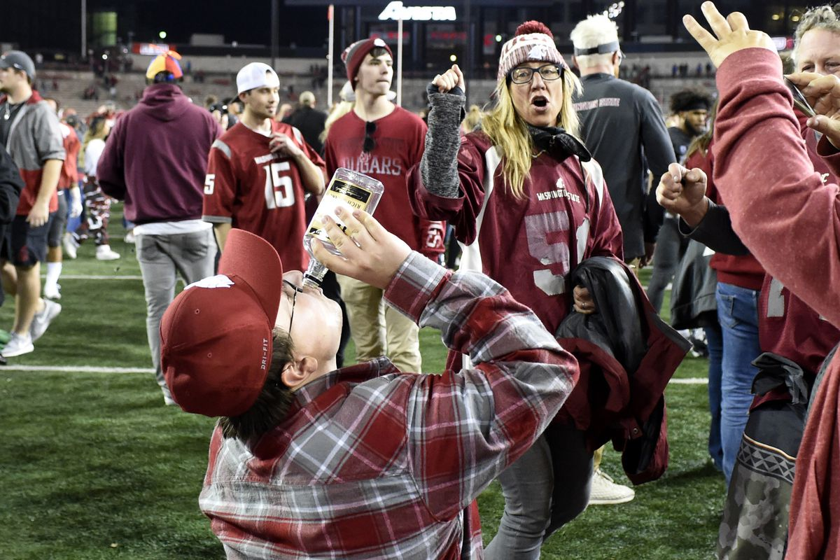 NCAA Football: Oregon at Washington State
