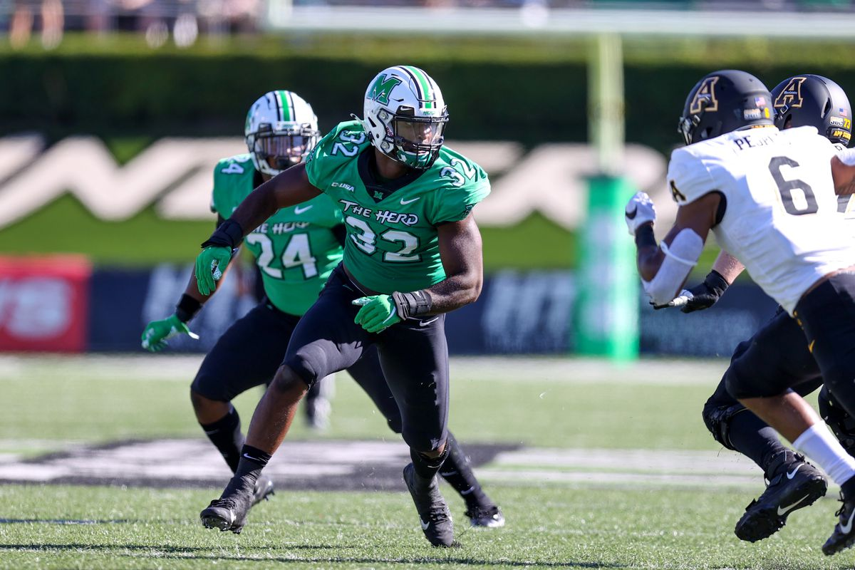 COLLEGE FOOTBALL: SEP 19 Appalachian State at Marshall
