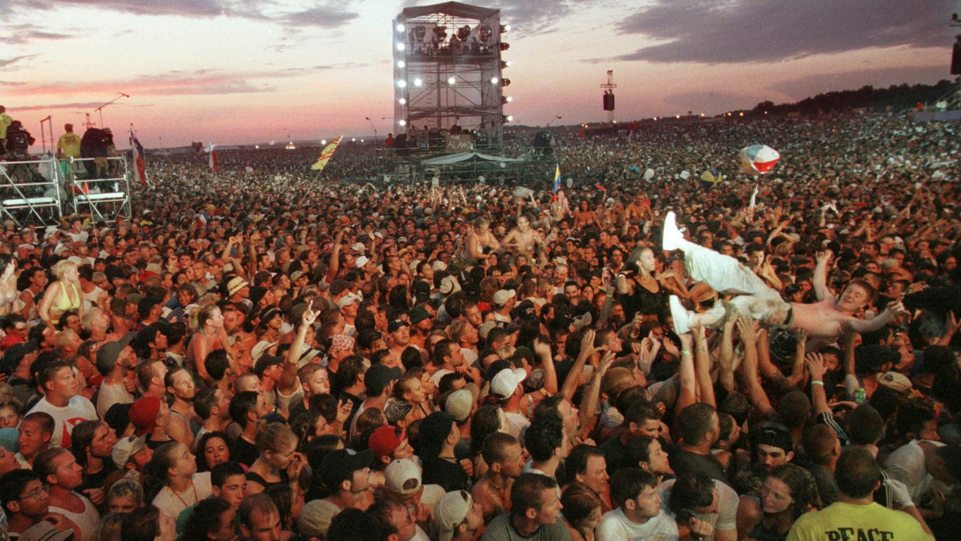 The Moment That Woodstock '99 Went Up in Flames