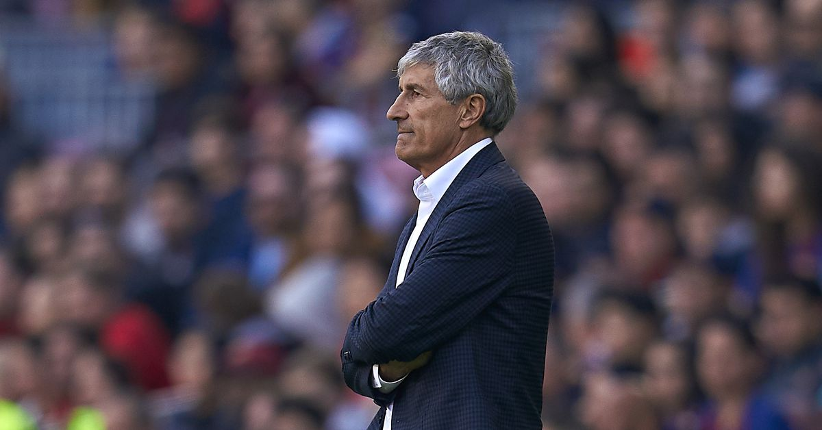 Quique Setien frustrated with Getafe's approach against Barcelona thumbnail