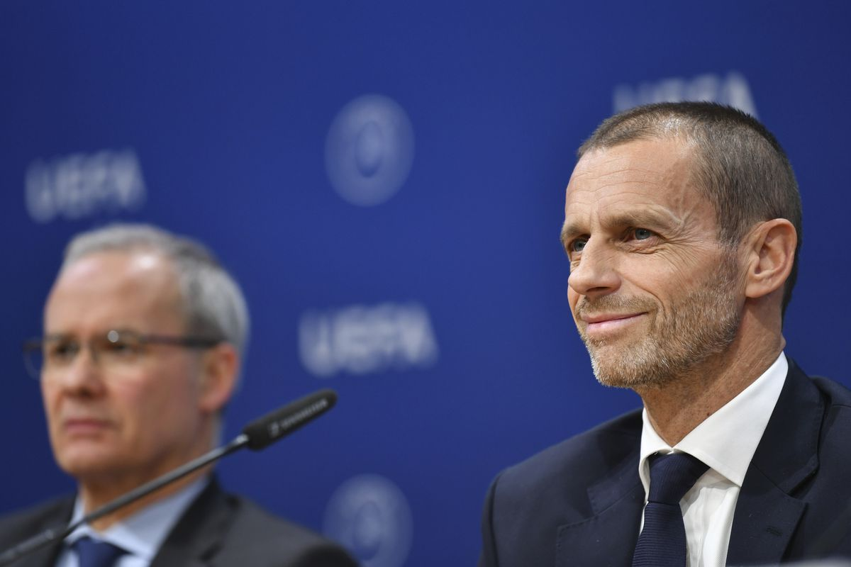UEFA Executive Commmittee Press Conference
