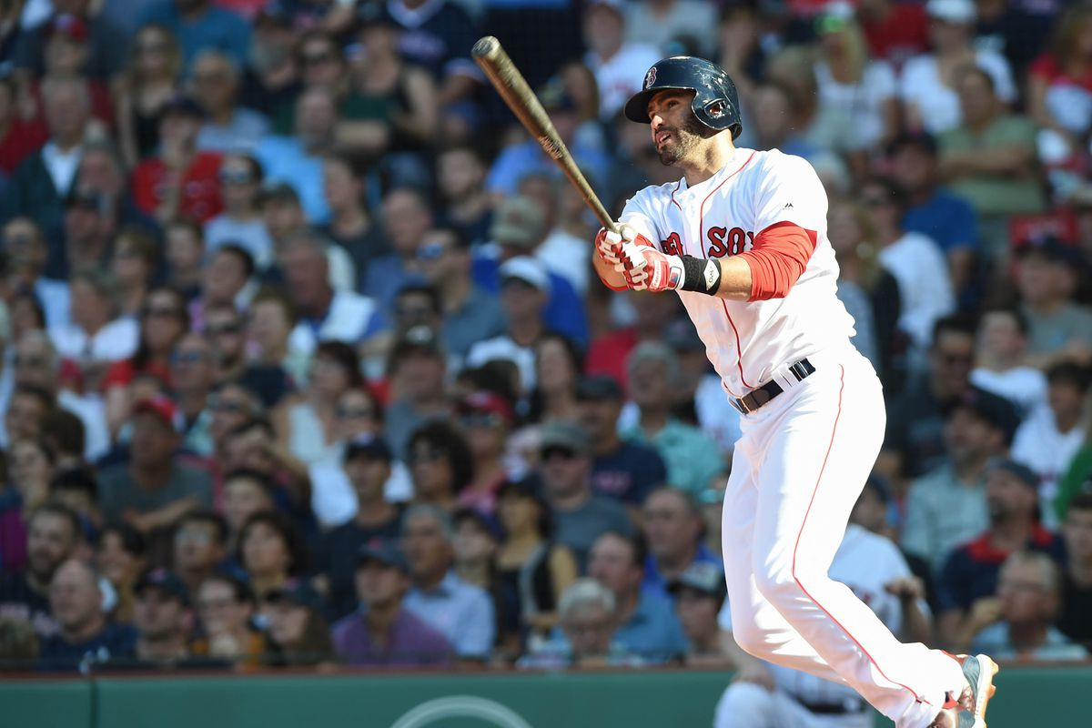 Bostons Jd Martinez Has 3 In 100 Odds To Win The Triple