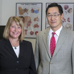 University of Utah professors Albert Park and Marissa Diener are lead authors of a study showing how a Utah law has led to increased screenings of infants with hearing loss due to a congenital infection.