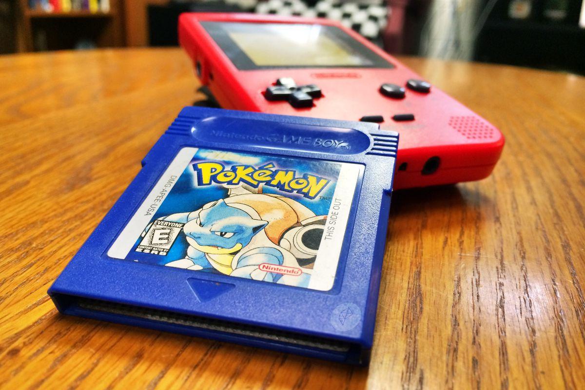 pokemon blue rom gba