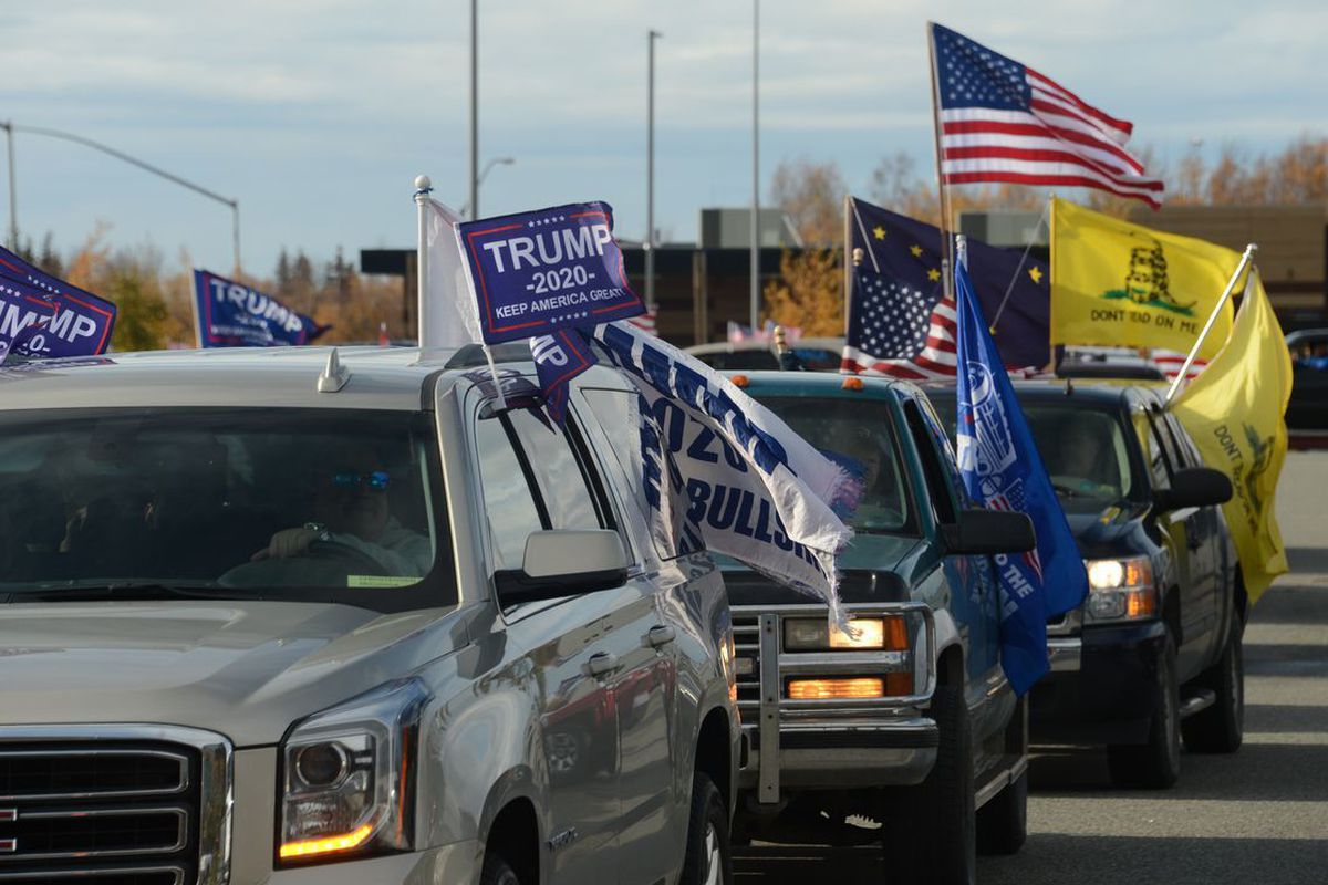 Trump supporter cars