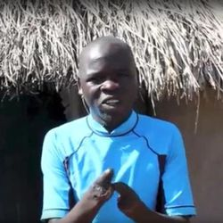 Opedmoth Cosmas of Uganda lost his hands when they got caught in a grinding machine. Members of the Mapleton community heard of his accident from friends serving an LDS mission in Uganda and started an initiative to raise $29,850 to get Cosmus new prosthetic hands.
