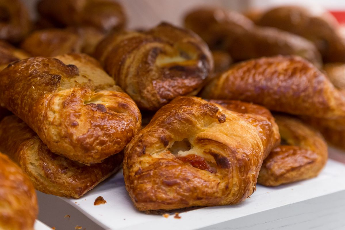 Croissants at Pronto by Giada