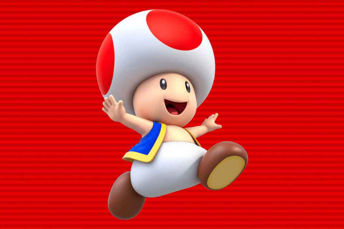 how to unlock and play as toad in super mario run polygon