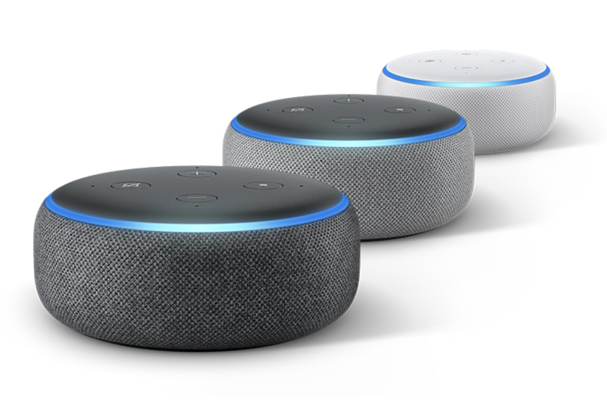 Amazon Is Selling A Bundle Of Three Echo Dot Speakers For Just 70
