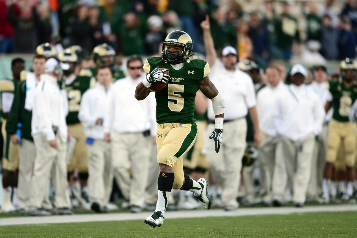 Admit it: If Alabama hadn't played CSU you'd have no idea this guy is pretty good, right?