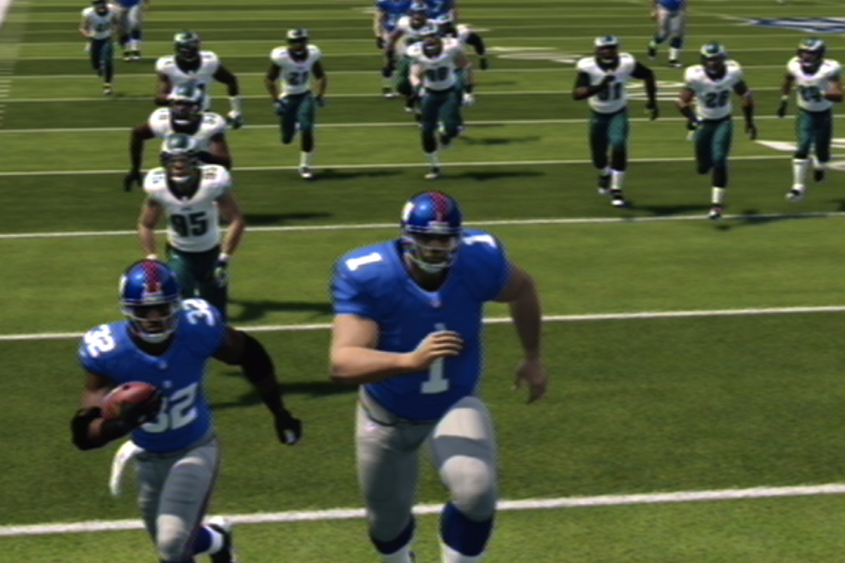 Breaking Madden: In which the Eagles get drunk and give up 2,400