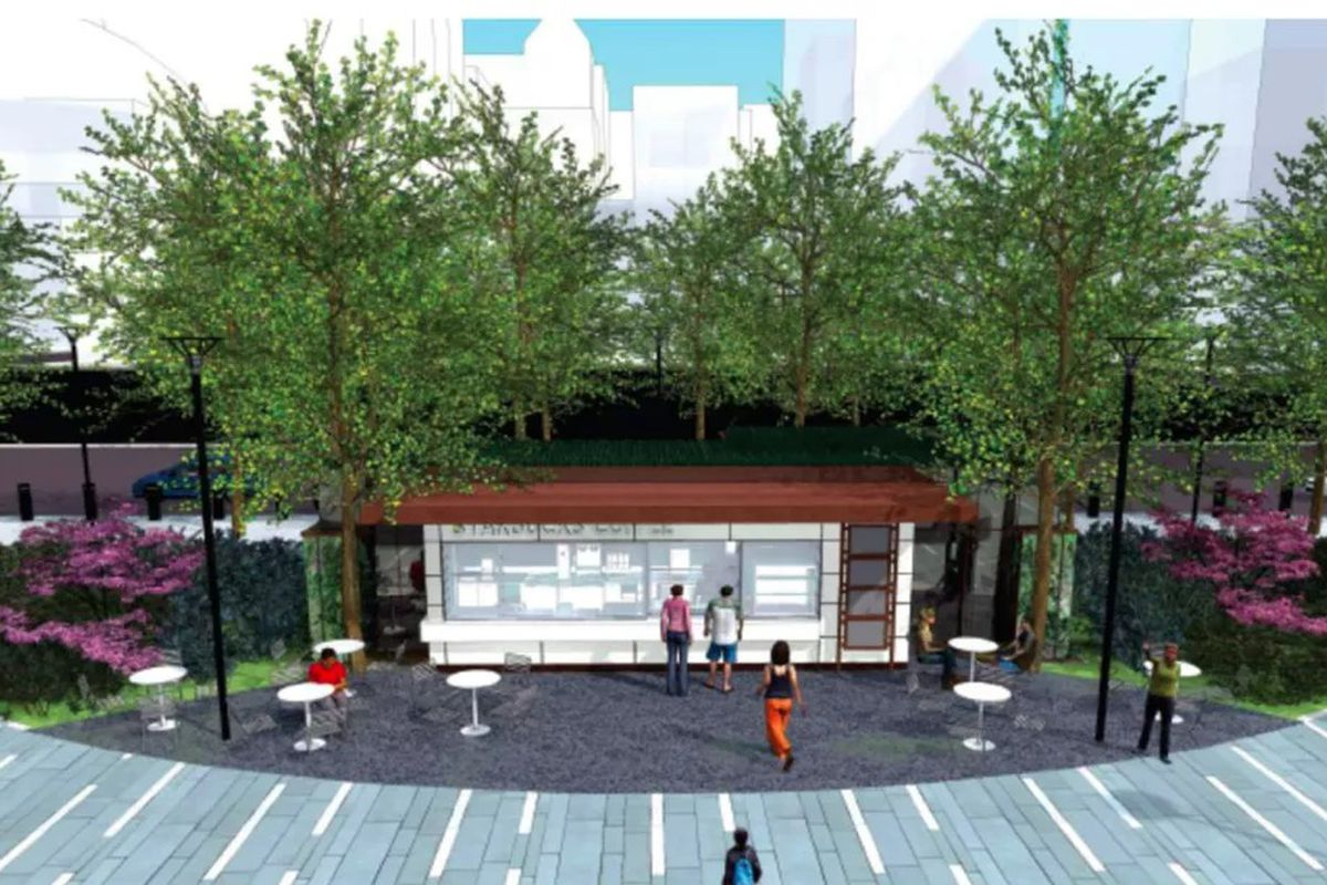 Planned Starbucks kiosk at Dilworth Park sparks outcry