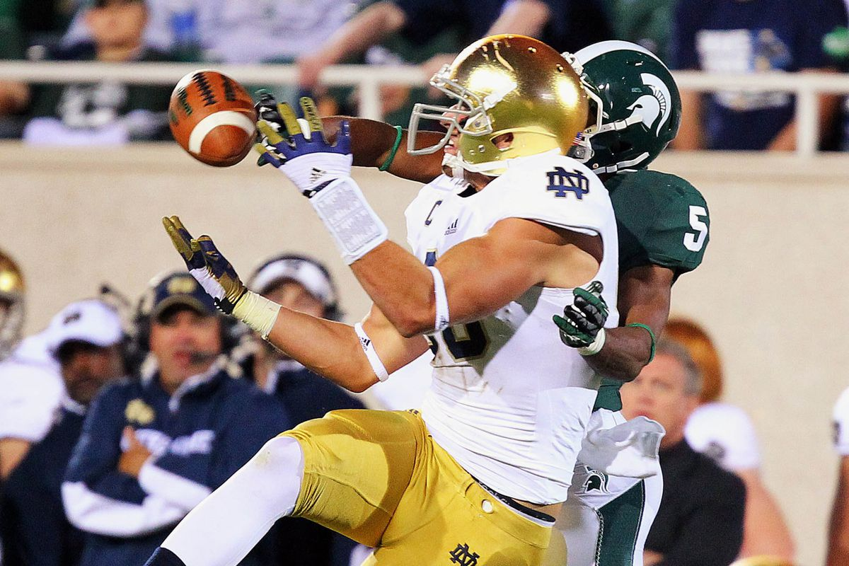 Notre Dame tight end Tyler Eifert is the most dangerous weapon for the Irish offense.