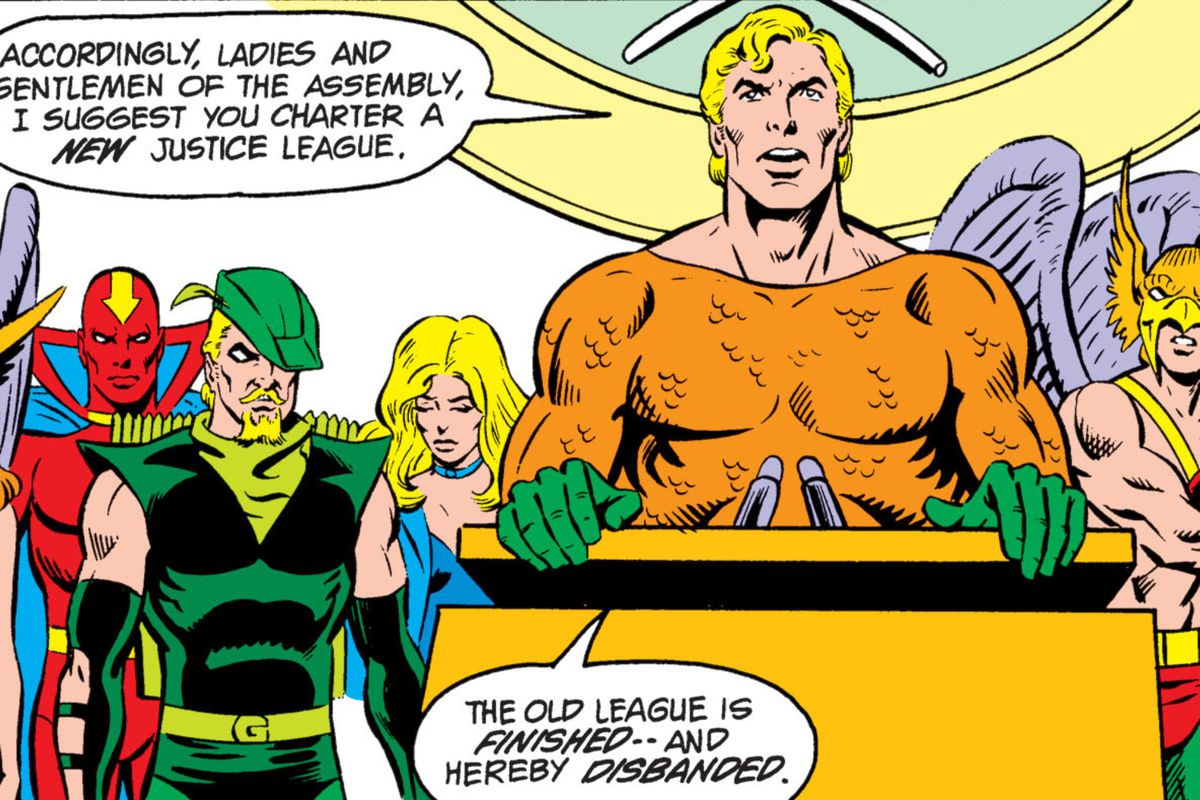 From Justice League Annual #2, DC Comics (1984).