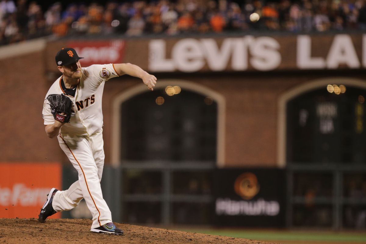 MLB: NLDS-Chicago Cubs at San Francisco Giants