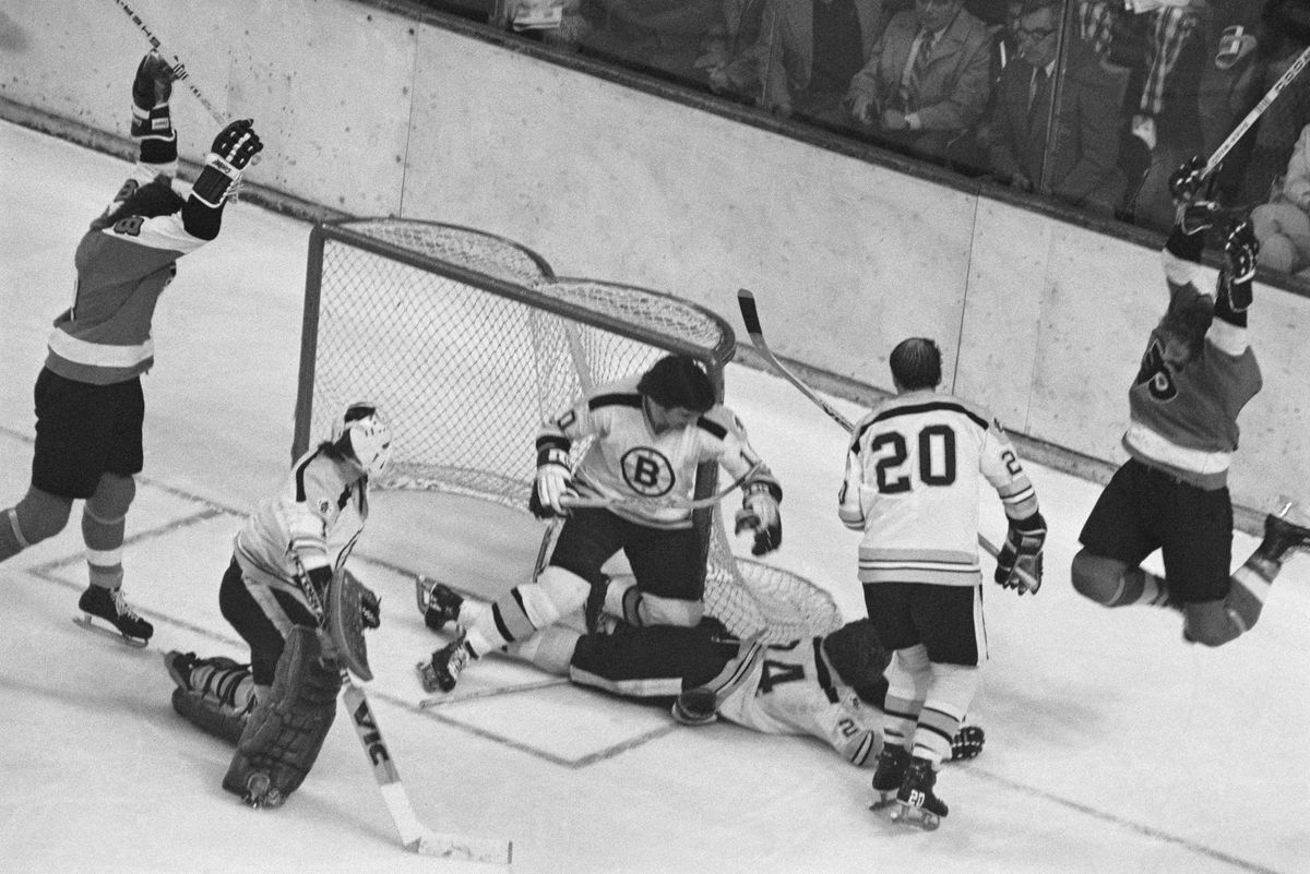 Hockey Action with Gilles Gilbert
