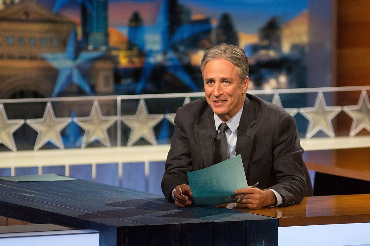 Jon Stewart has hosted The Daily Show since 1999.