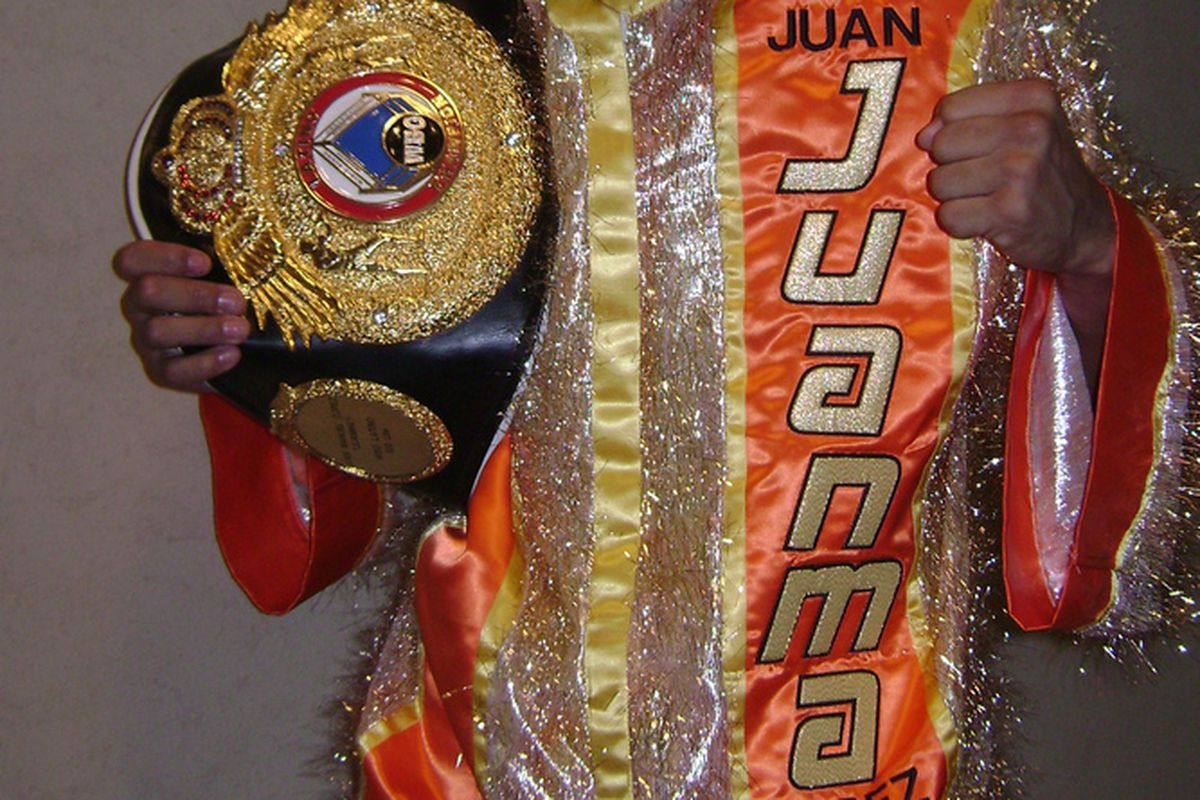 Juan Manuel Lopez will defend his featherweight title for the first time on July 10. Showtime is likely to televise.