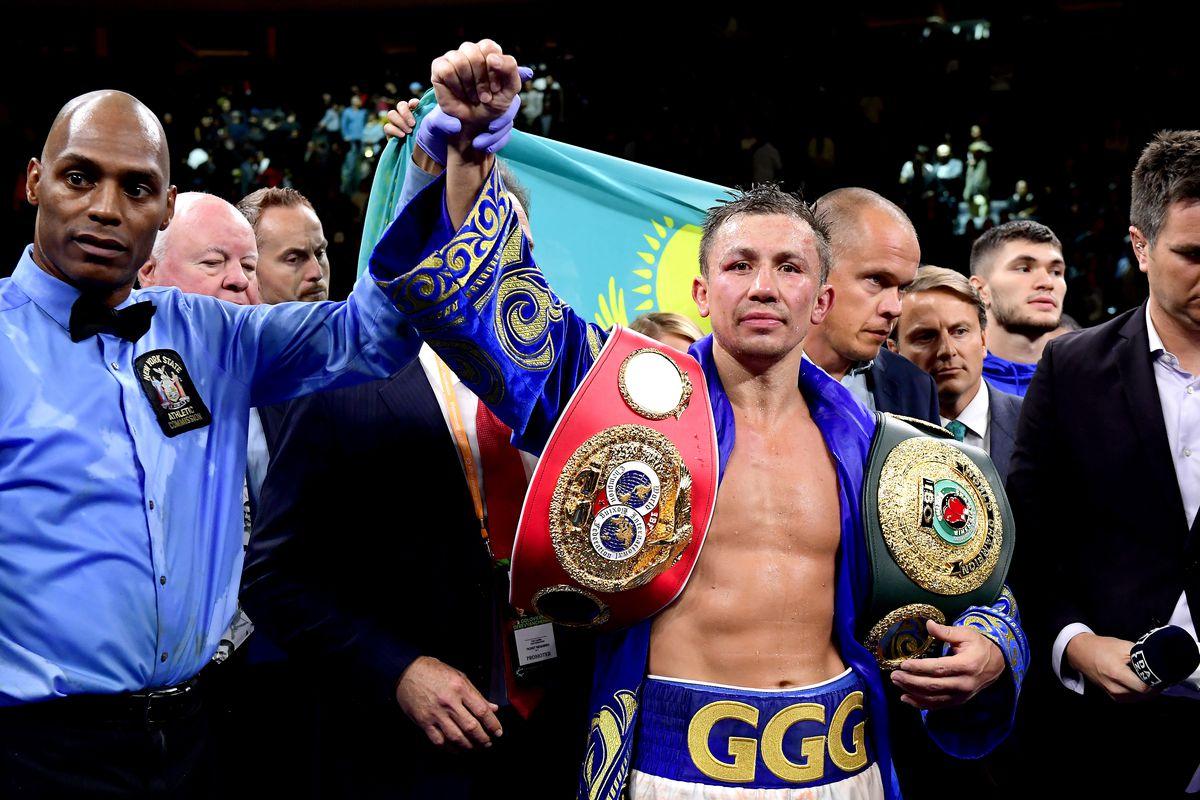 Gennady Golovkin v Sergiy Derevyanchenko