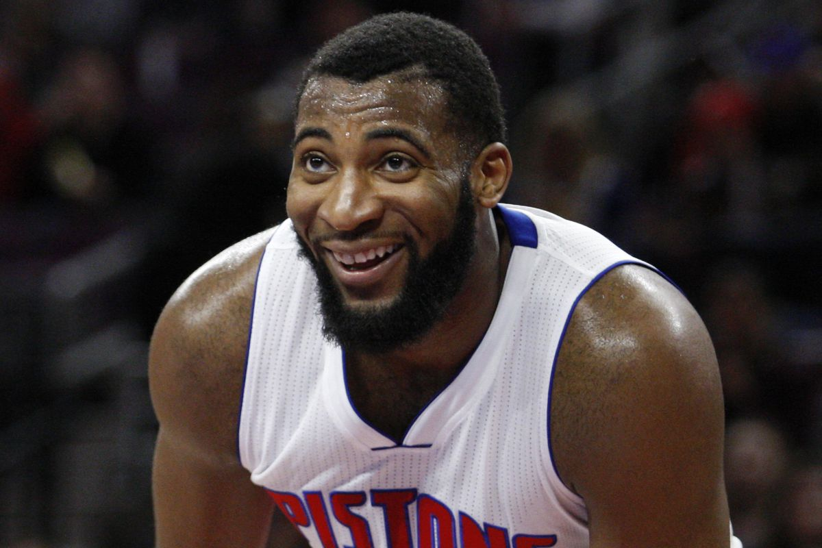 Image result for andre drummond happy