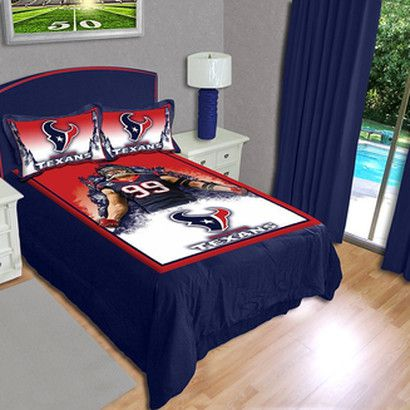 j.j. watt bedding sets are awesome - battle red blog