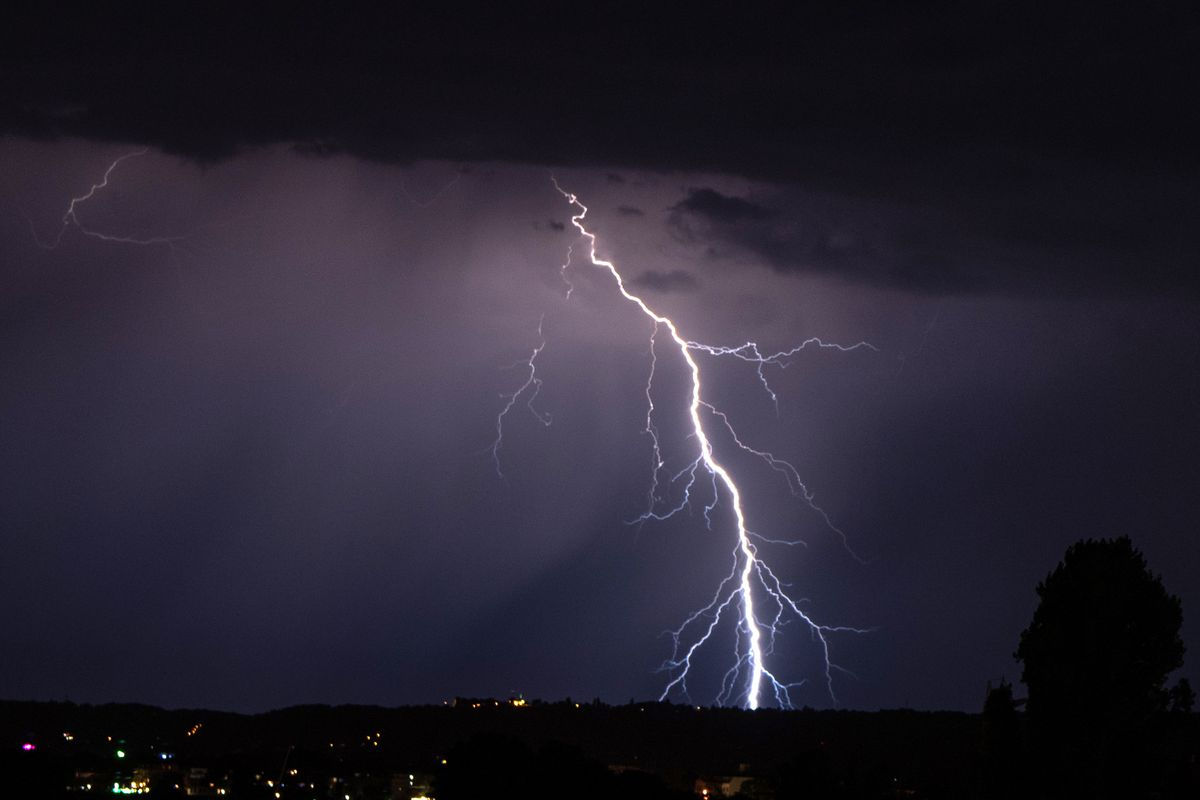 Thunderstorms in Saxony