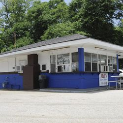 """This photo taken Wednesday, July 8, 2015, shows Mel's Dairy Dream, located on the site of the childhood home of author Harper Lee in Monroeville, Ala. The small business attracts visitors seeking spots mentioned in Lee's book """"To Kill a Mockingbird,"""" and the town is drawing new visitors with the release of her second book """"Go Set a Watchman"""" set for July 14, 2015."""