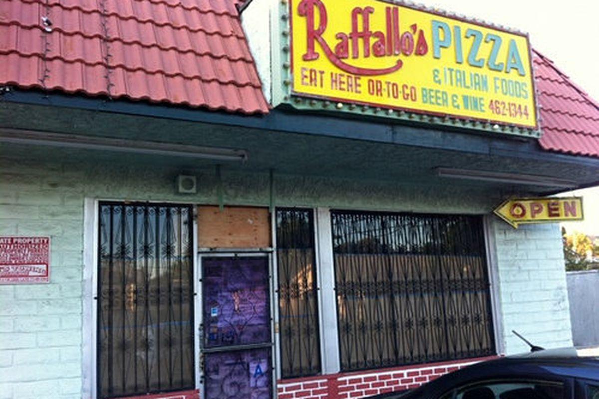 Trois Mec will have no signage in the old Rafallo's pizzeria.