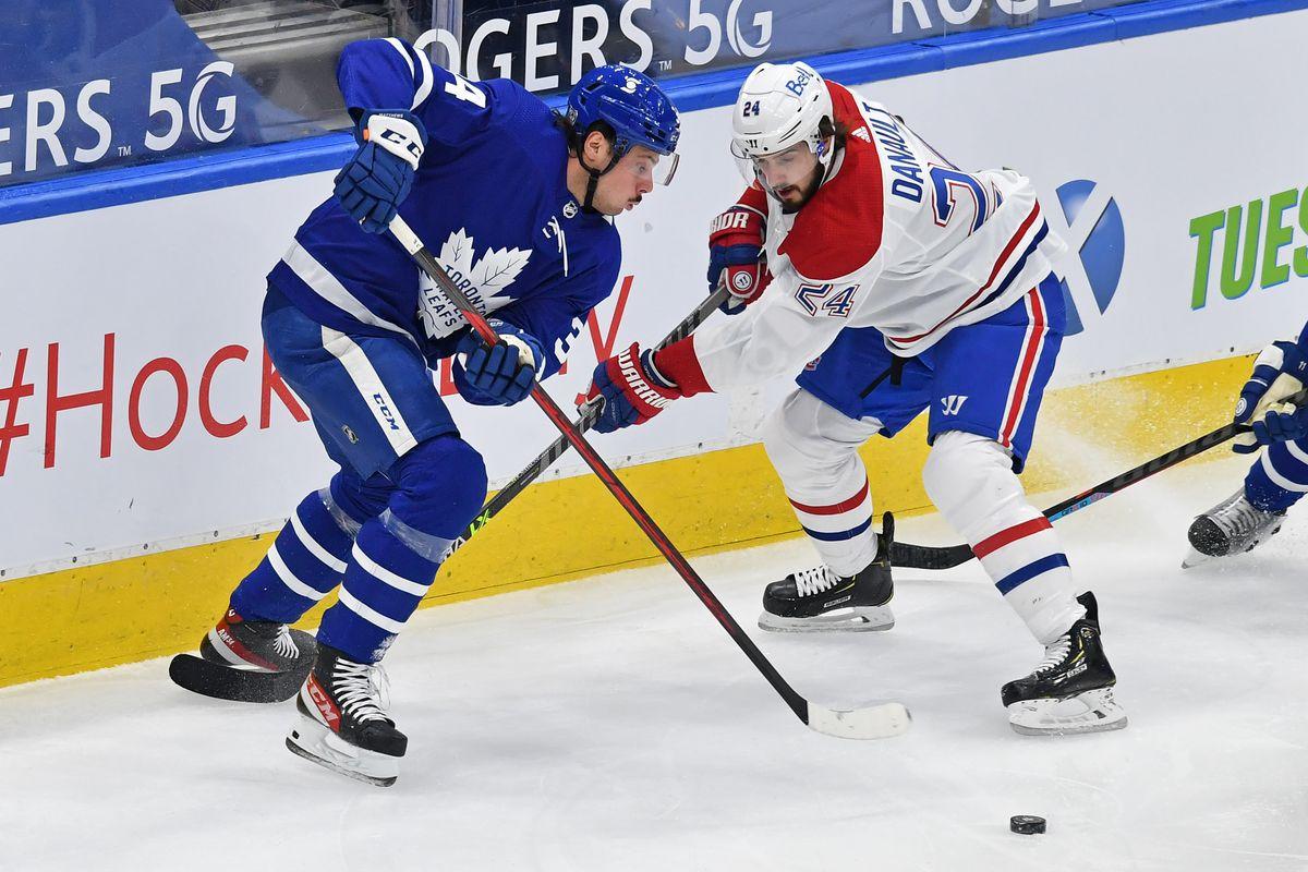 NHL: FEB 13 Canadiens at Maple Leafs