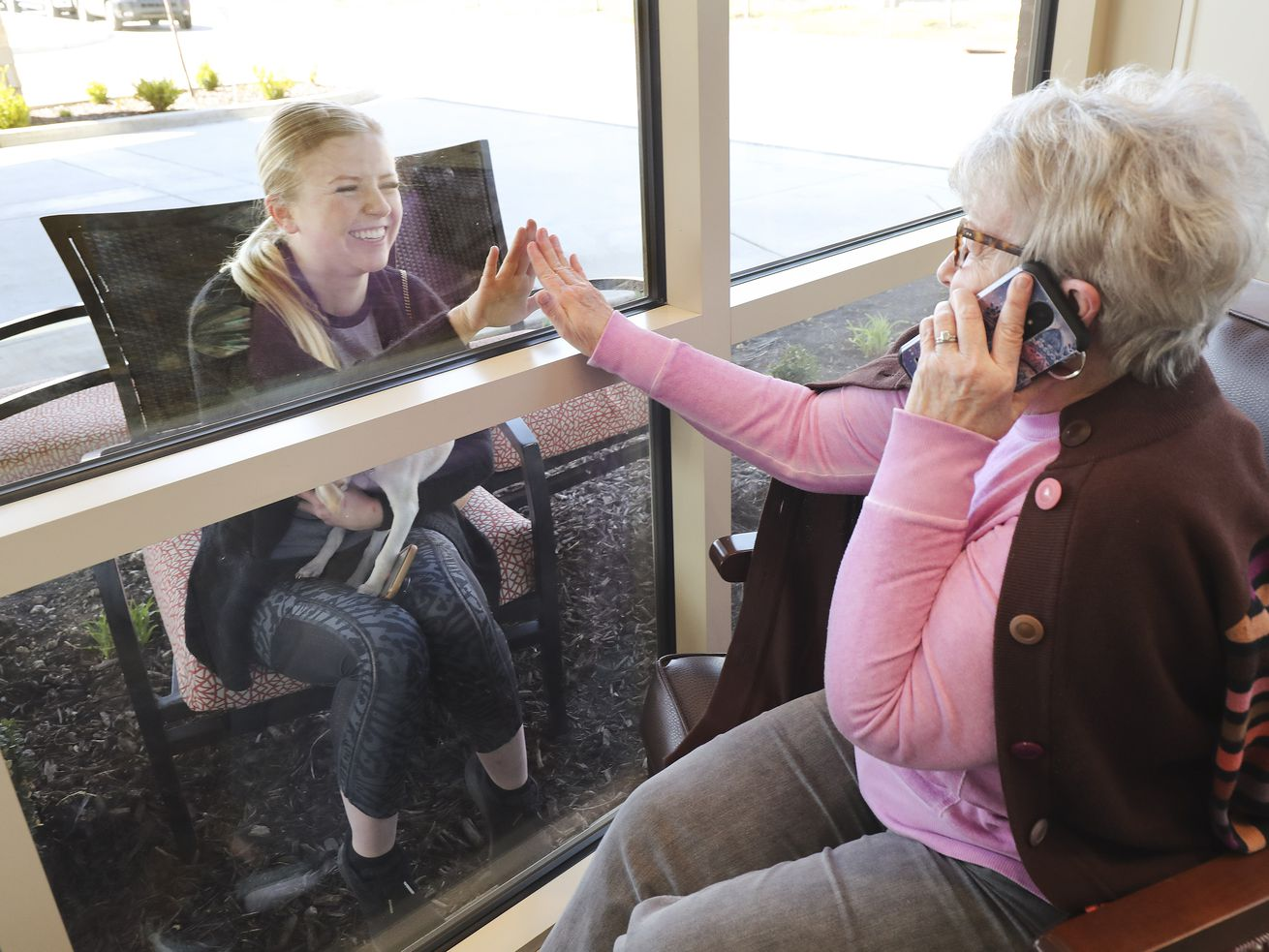 Critical connections: Residents of senior living community find ways to connect during coronavirus lockdown