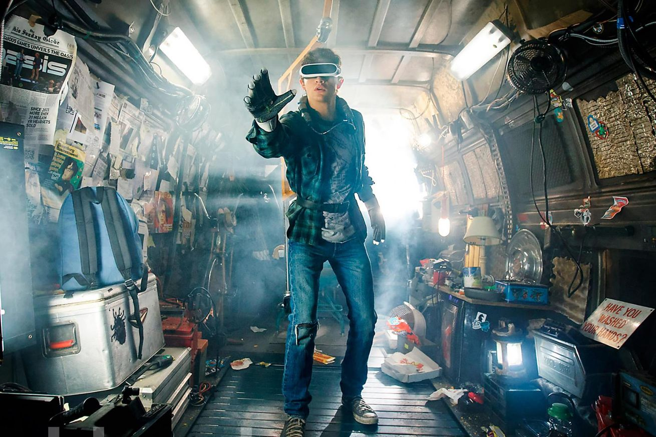 watch the new trailer for steven spielberg s ready player one