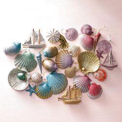 Glittered shells