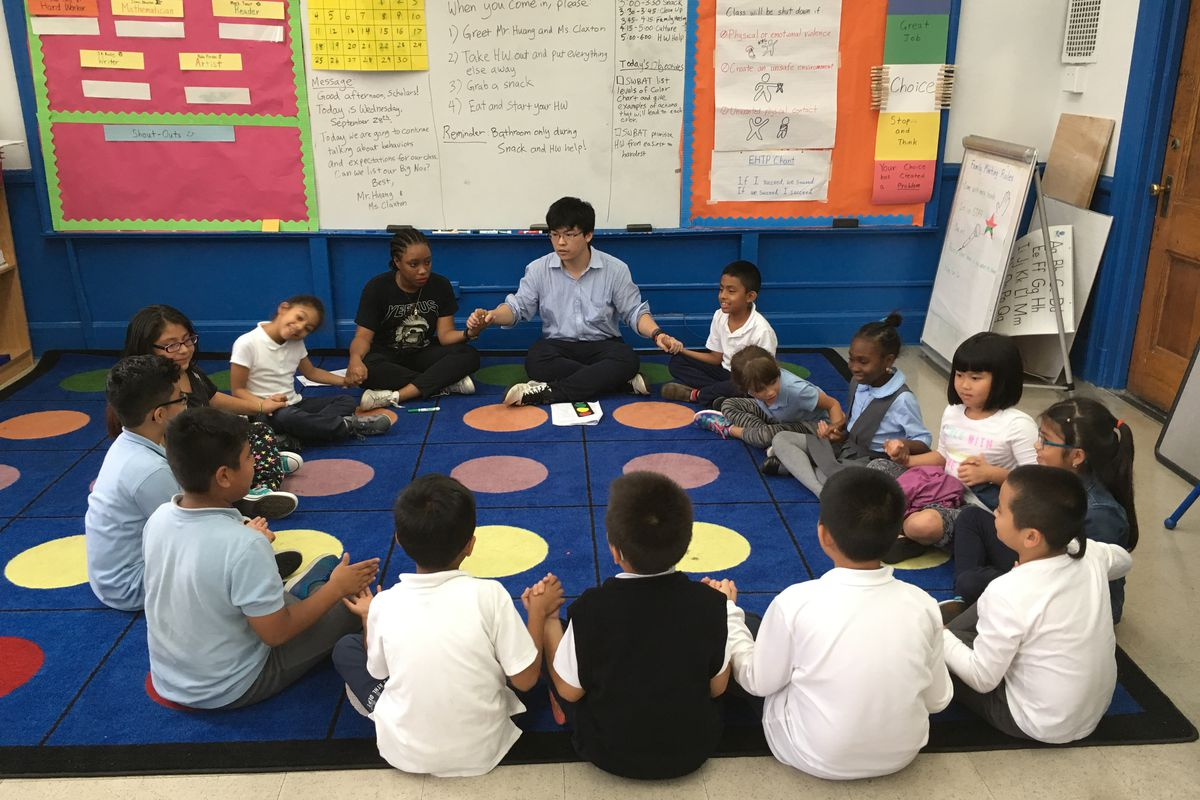 East Harlem Teaching Residents in the classroom.