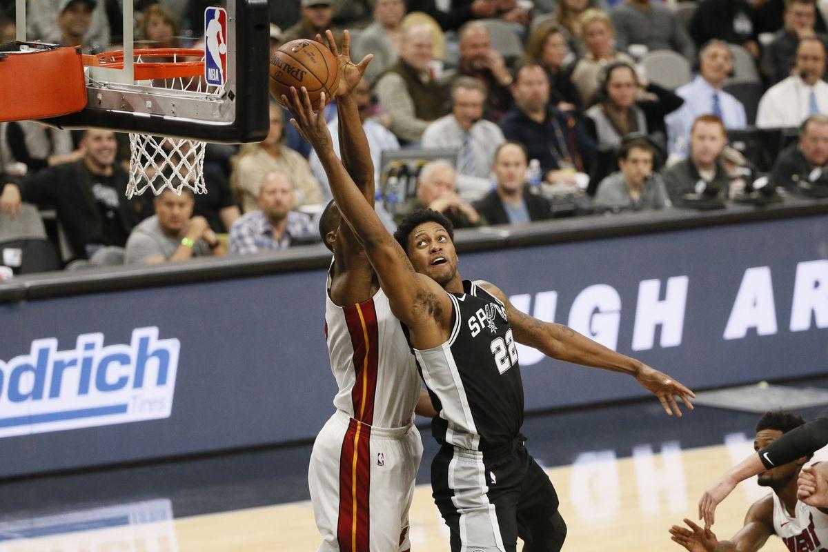 NBA: Miami Heat at San Antonio Spurs