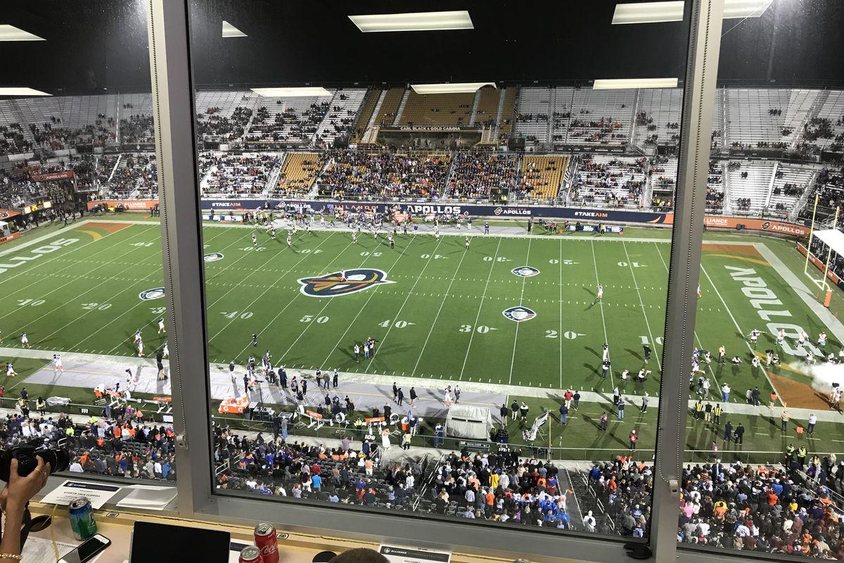 Orlando Apollos Spectrum Stadium