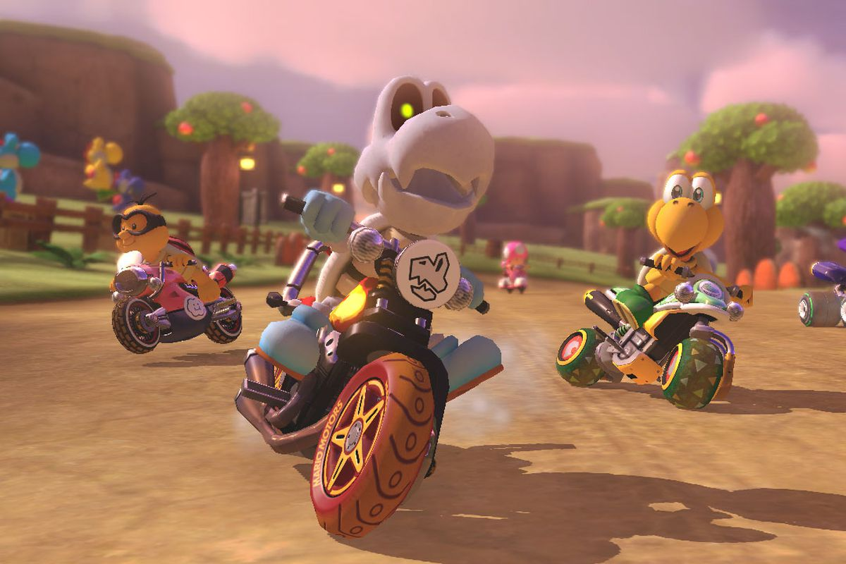 Mario kart 8 for sale - Dry Bones Leads The Pack In Mario Kart 8 Nintendo Epd Nintendo