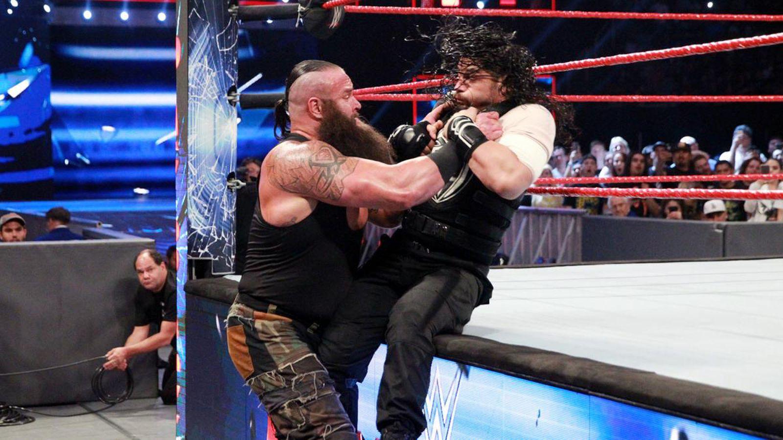 Cageside Community Star Ratings: Roman Reigns vs. Braun ...