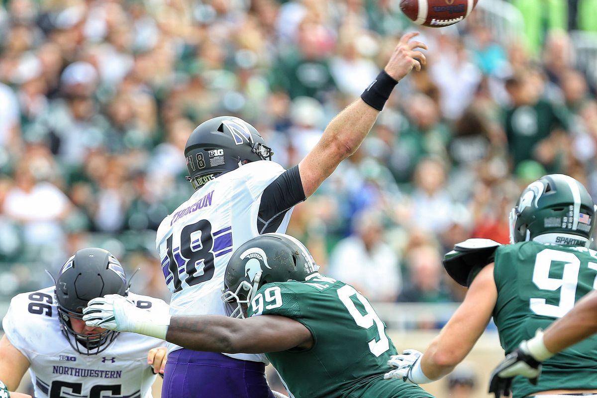 NCAA Football: Northwestern at Michigan State