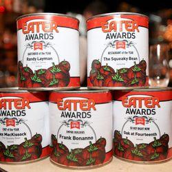 Eater Denver Award Cans For The Winners