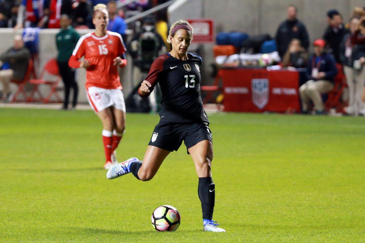 Soccer: International Friendly Women's Soccer-Switzerland at USA