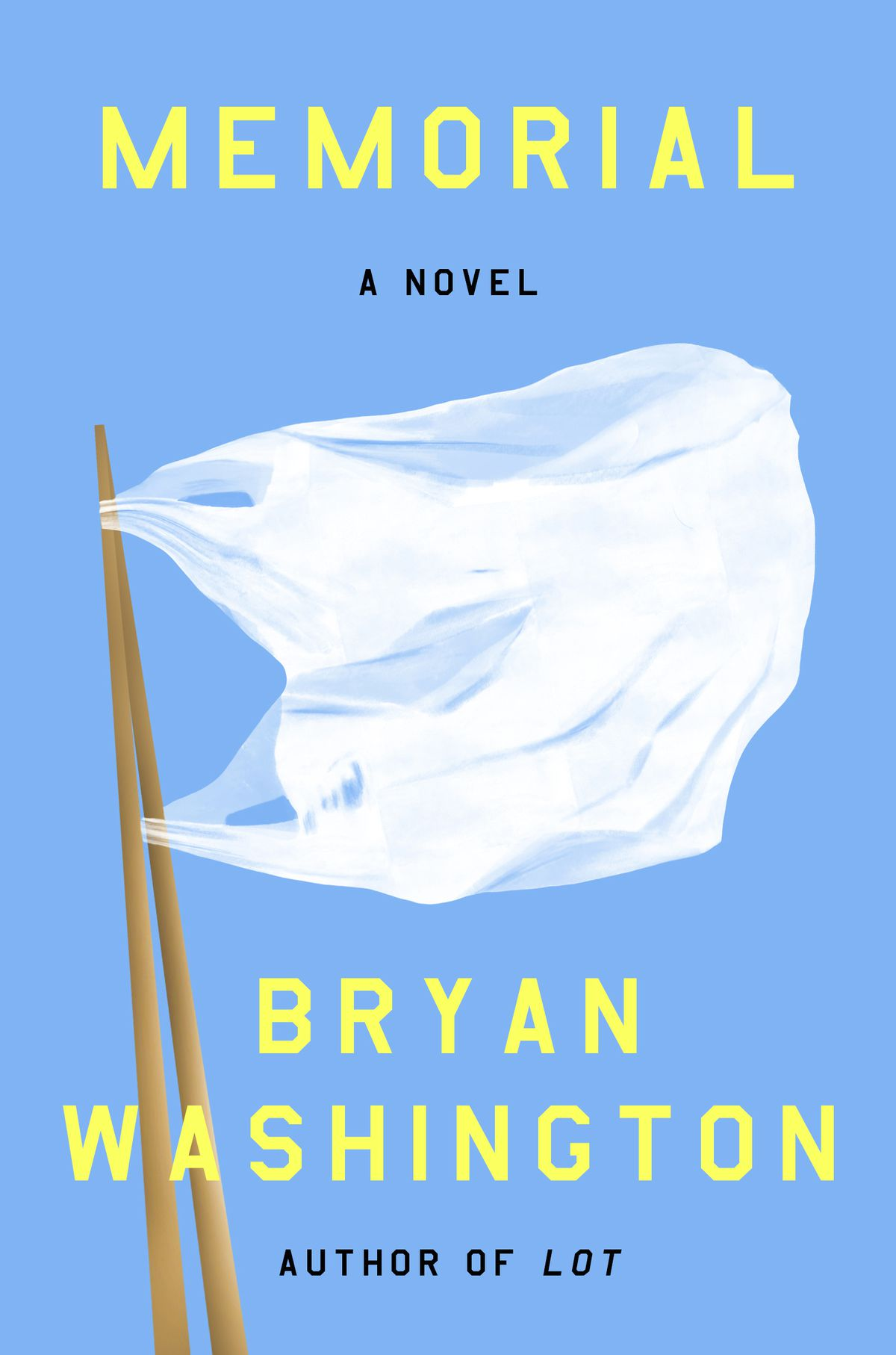 "Bryan Washington's ""Memorial."""