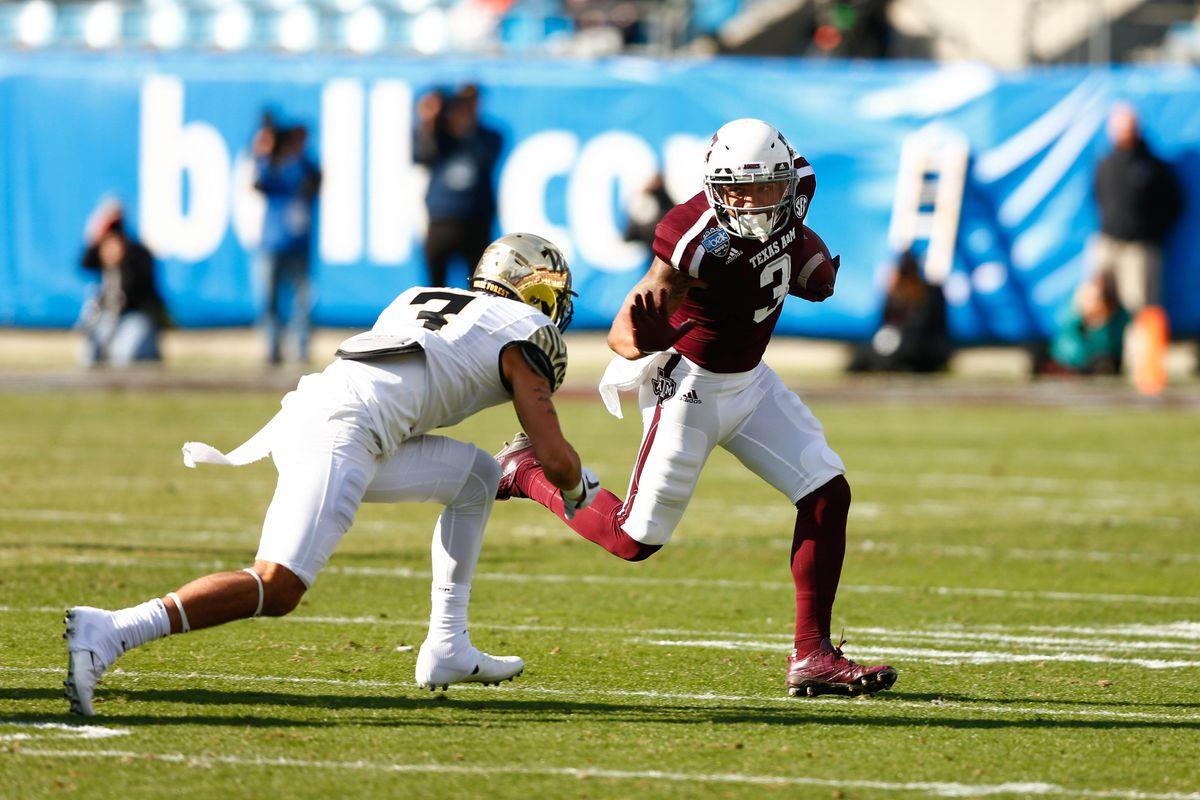 NCAA Football: Belk Bowl-Wake Forest vs Texas A&M