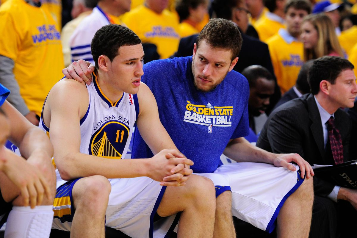 """""""Don't worry about all those rumors, Klay - they like you. They really, really like you."""""""