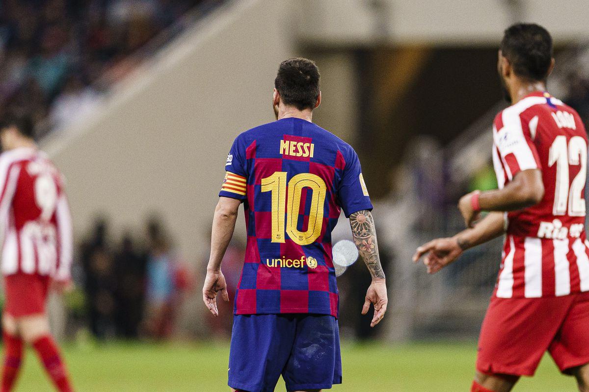 Barcelona vs Atlético Madrid live blog, full-time: Late Correa ...