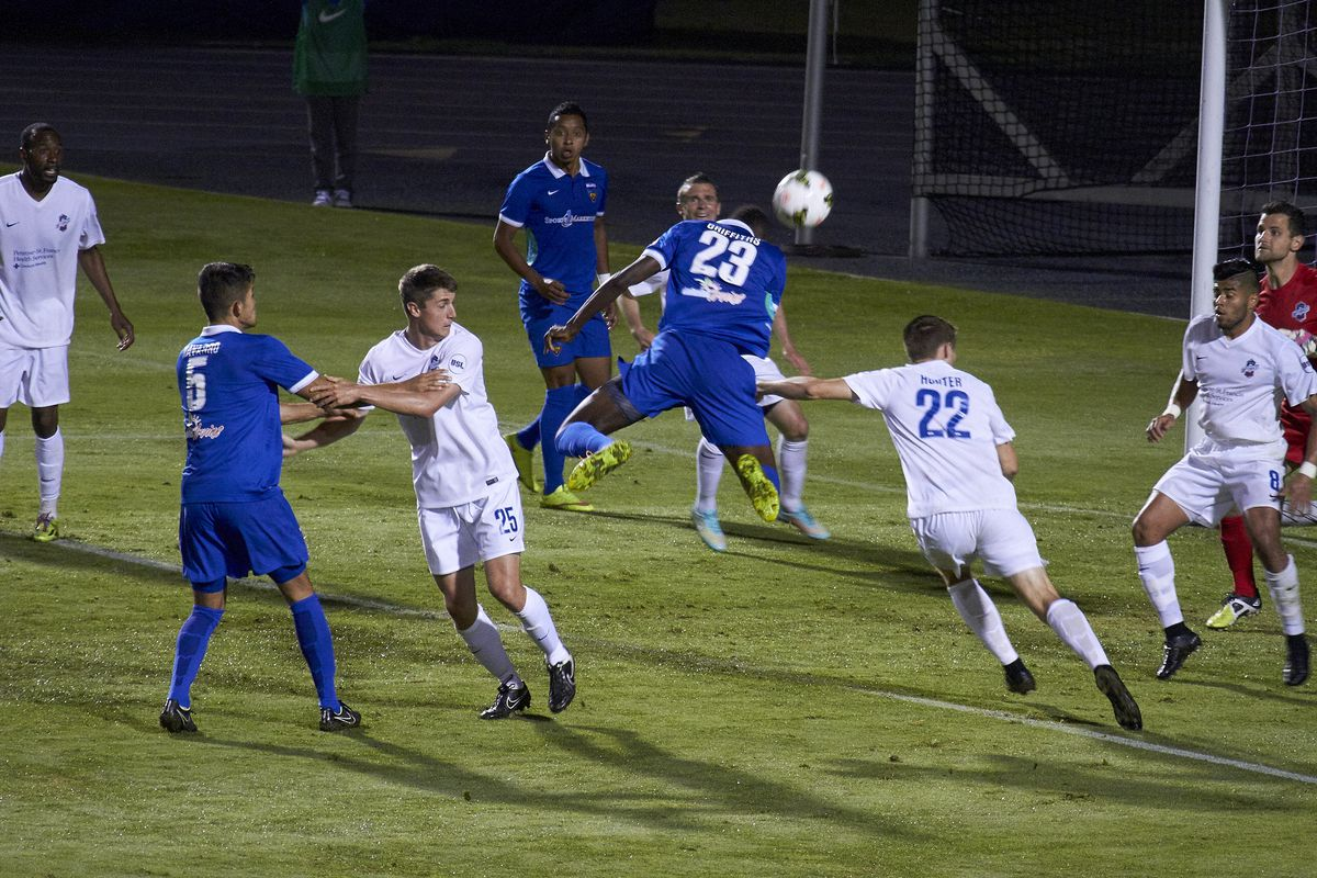 The Blues could not maintain a 100 percent record against the Switchbacks.