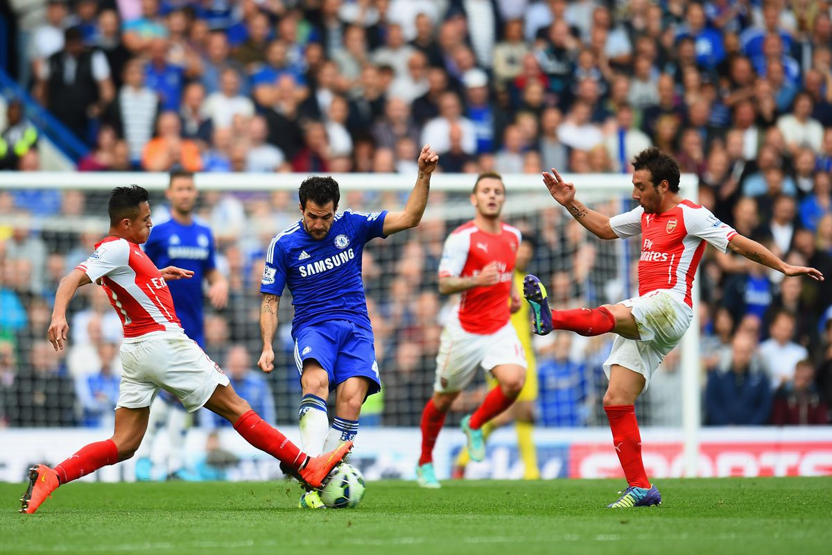 When they last met, it was testy, and seeing Fabregas in blue was straight-up weird.